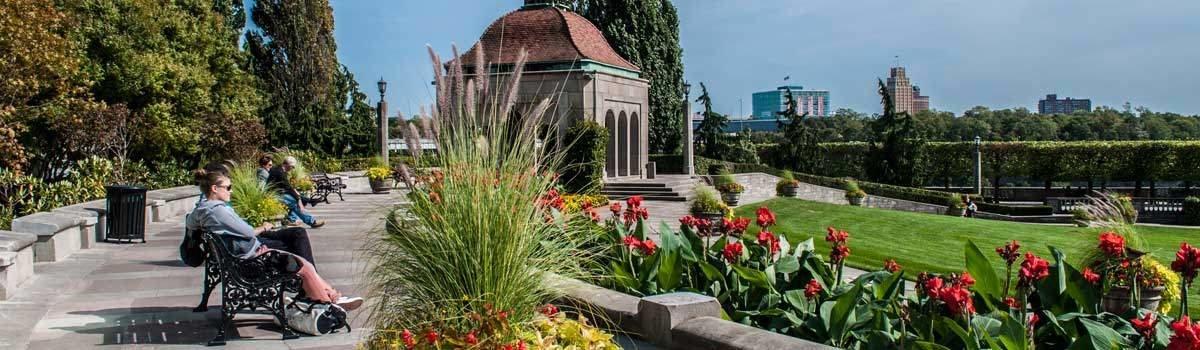 Oakes Garden Theatre Niagara Falls Canada