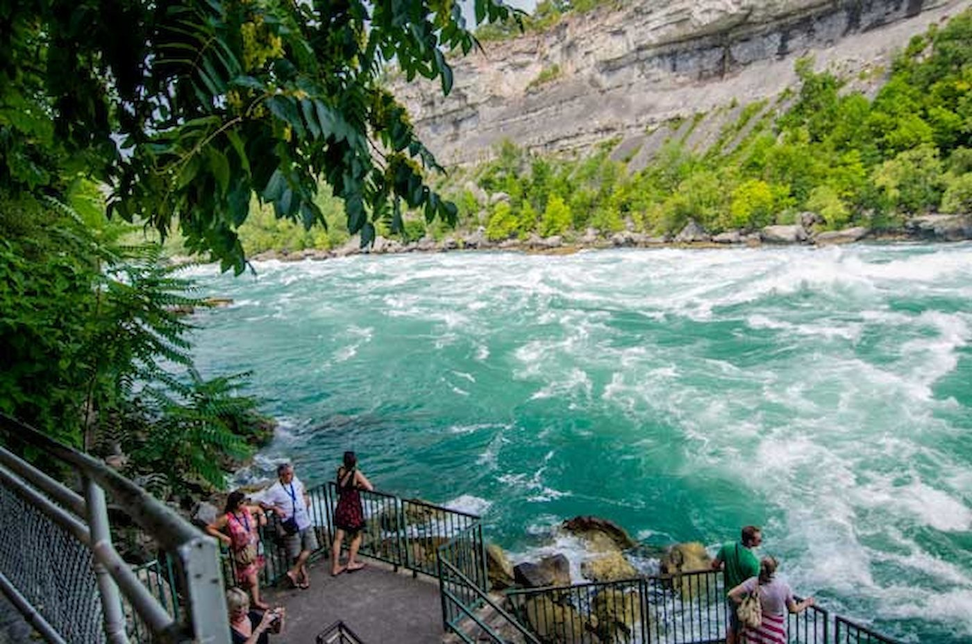 White Water Walk Things To Do Niagara Falls Canada