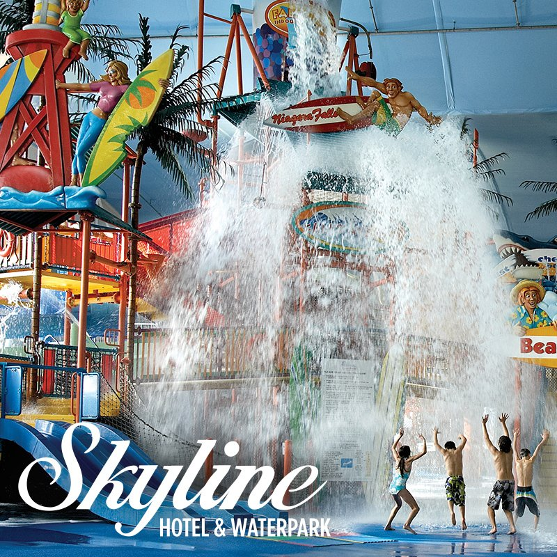 skyline hotel waterpark where to stay niagara falls. Black Bedroom Furniture Sets. Home Design Ideas