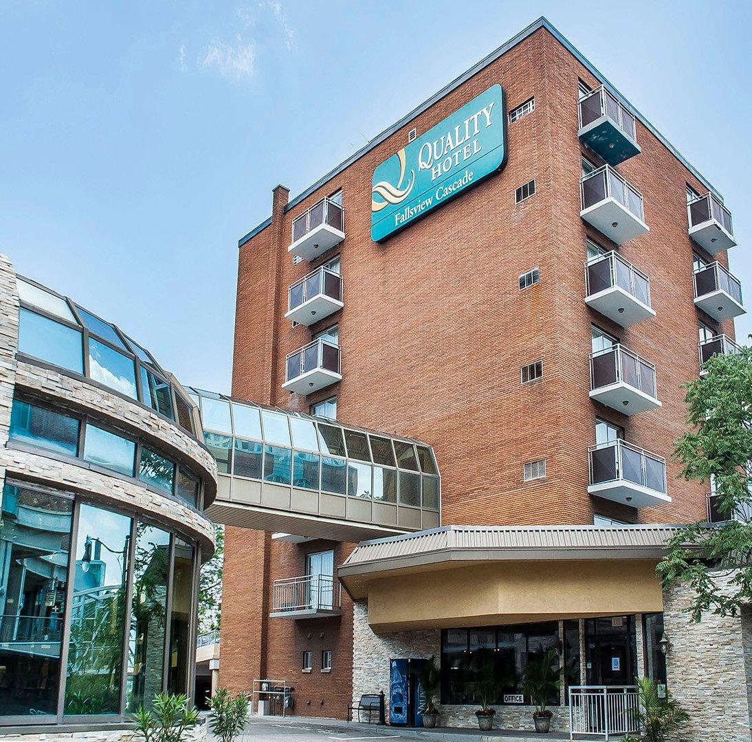 Quality Fallsview Cascade Hotel Where To Stay Niagara