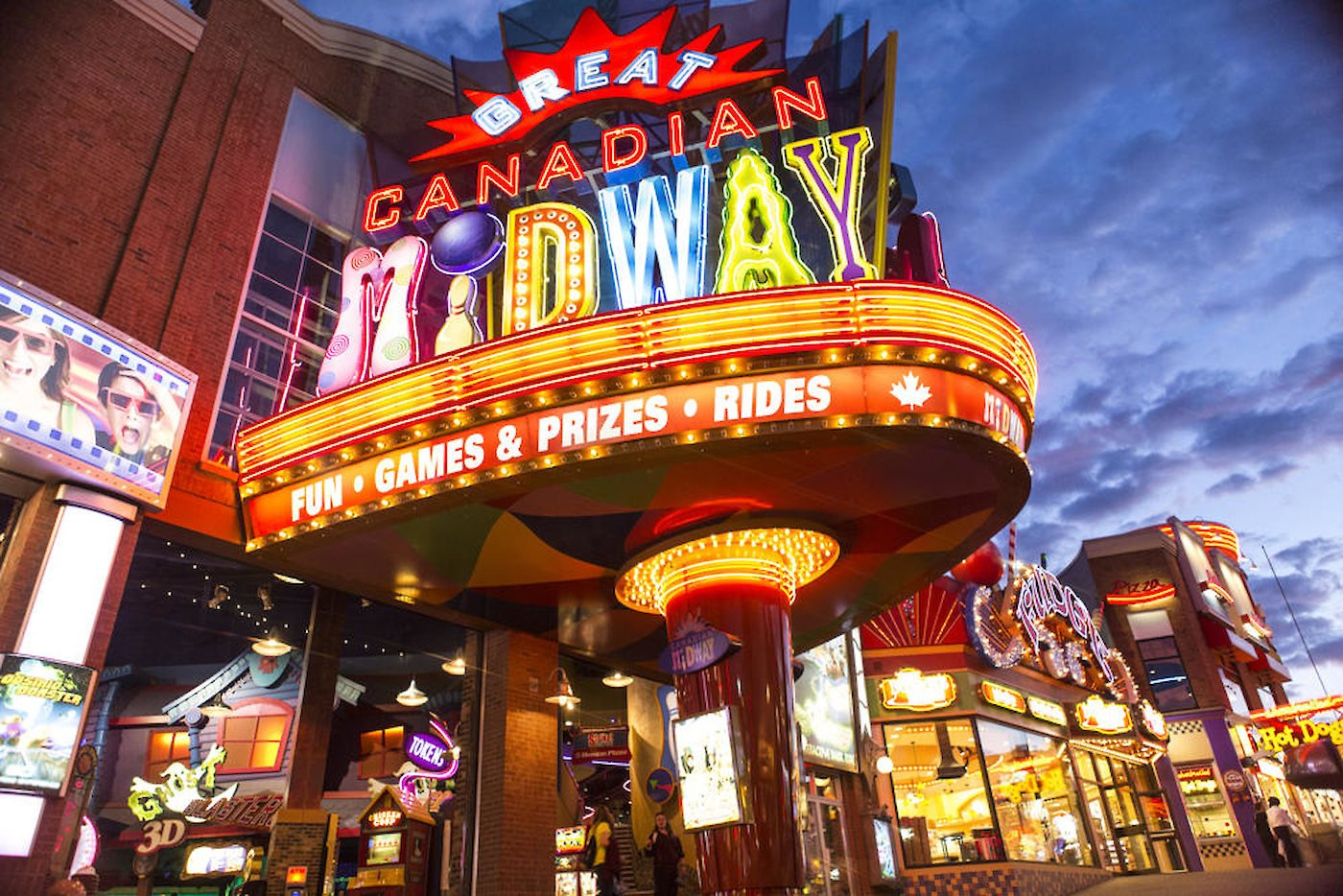 Great Canadian Midway Things To Do Niagara Falls Canada