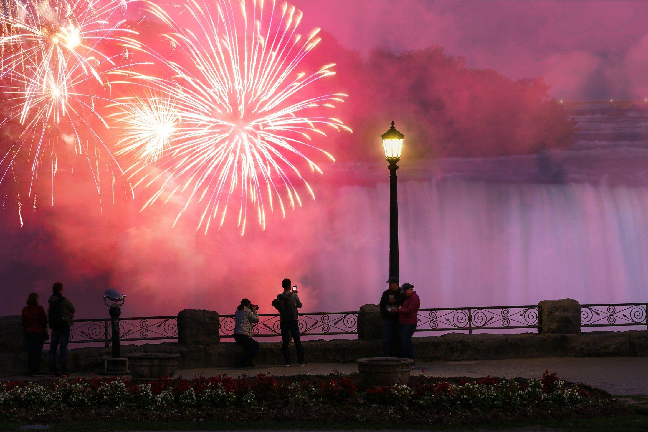 Niagara Falls Fireworks - Schedule & Best Views | Niagara