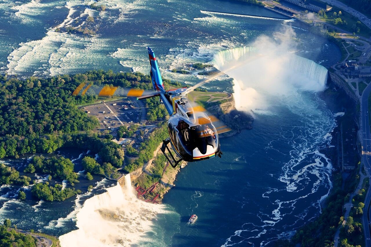 What Do We Talk About When We Talk >> Niagara Helicopters - Things to do | Niagara Falls Canada