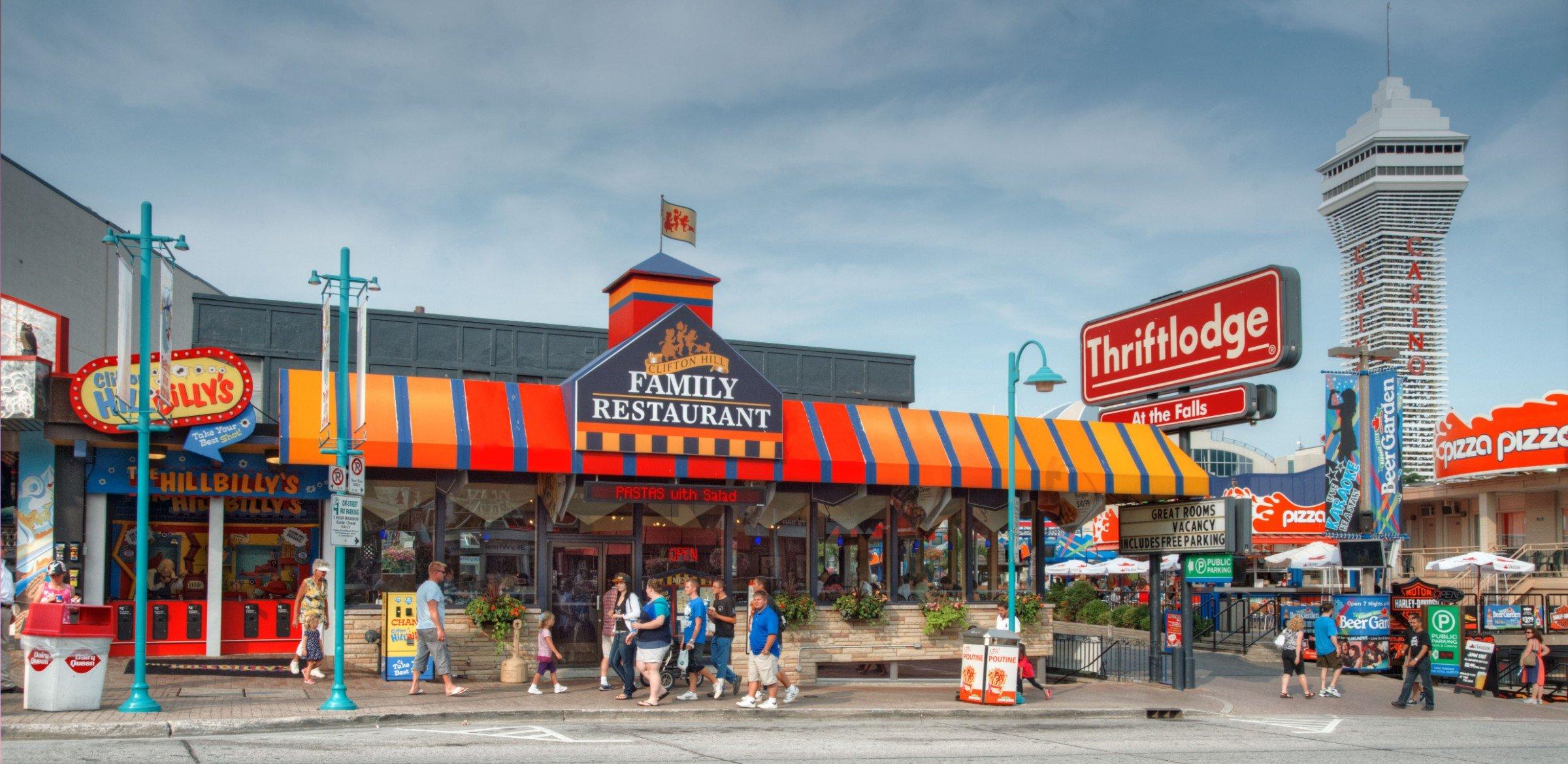 Niagara Clifton Family Restaurant Restaurants Dining