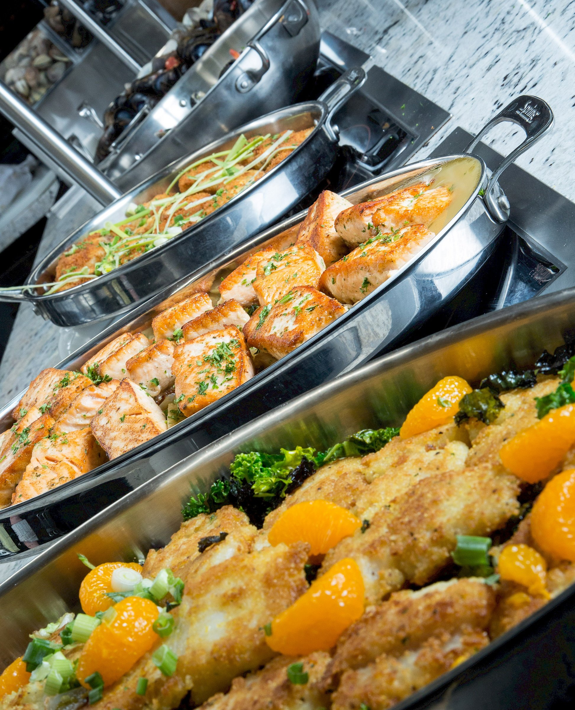 Grand falls casino seafood buffet