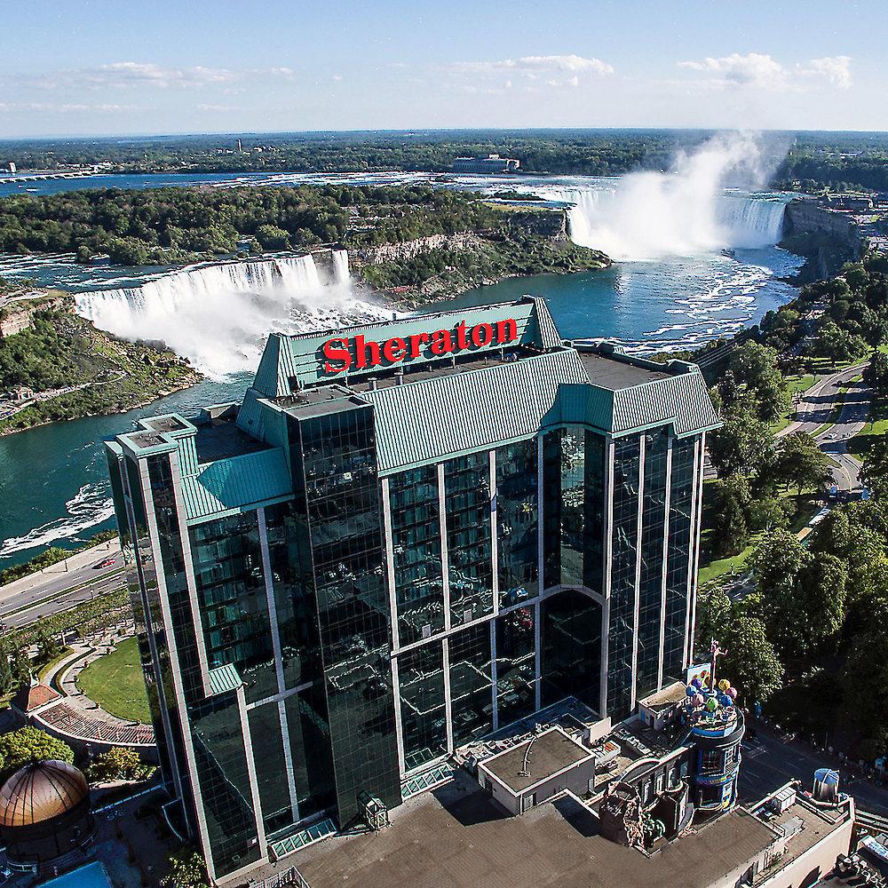 Two Floor Hotel Rooms Niagara Falls